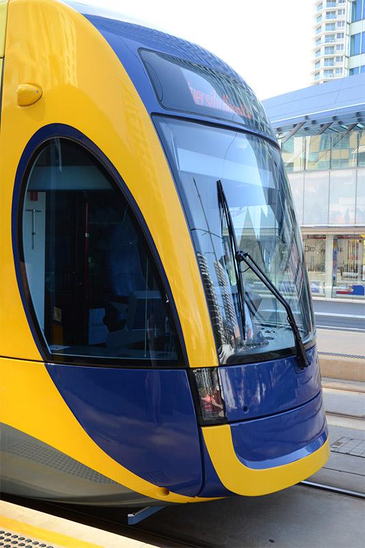 Catch the new Gold Coast Tram